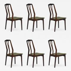 Helge Vestergaard Jensen Helge Vestergaard Jensen Attributed Danish Rosewood Dining Chairs - 531875