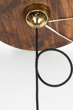 Helge Zimdal 1960s Brass Perforated Onion Pendants by Helge Zimdal for Falkenberg - 524627
