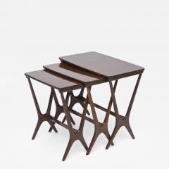 Heltborg Mobler Danish Modern Mahogany Nesting Tables   532670