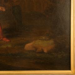 Hendrick Frans Diamer Hendrick Frans Diamer Flemish c 1690 1770 A piper and his companion  - 2129164