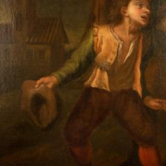 Hendrick Frans Diamer Hendrick Frans Diamer Flemish c 1690 1770 A piper and his companion  - 2129165