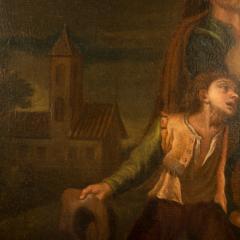 Hendrick Frans Diamer Hendrick Frans Diamer Flemish c 1690 1770 A piper and his companion  - 2129174