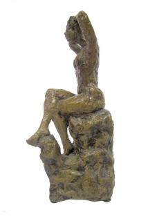 Hendrik Grise Ceramic Sculpture of a Bathing Female by Hendrick Grise - 223478