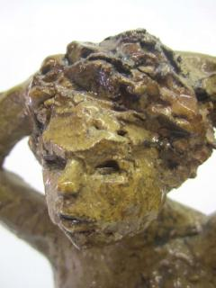 Hendrik Grise Ceramic Sculpture of a Bathing Female by Hendrick Grise - 223484
