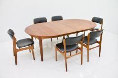 Henning Kjaernulf Henning Kjaernulf Dining Table in Teak Model 62 Sor Stolefabrik in Denmark 1958 - 646130