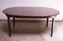 Henning Kjaernulf Large Rosewood and Brass Extension Dining Table by Henning Kj rnulf for Sor  - 1093066