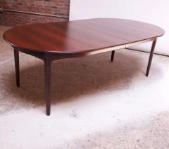 Henning Kjaernulf Large Rosewood and Brass Extension Dining Table by Henning Kj rnulf for Sor  - 1093074