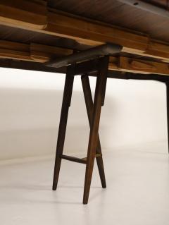 Henning Kjaernulf Large Scandinavian Modern Rosewood Dining Room Table by Henning Kjaernulf - 2014253