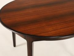 Henning Kjaernulf Large Scandinavian Modern Rosewood Dining Room Table by Henning Kjaernulf - 2014255