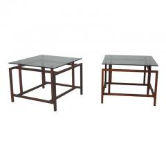 Henning N rgaard Pair of Rosewood Side Tables by Henning N rgaard for Komfort - 1891245