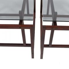 Henning N rgaard Pair of Rosewood Side Tables by Henning N rgaard for Komfort - 1891247