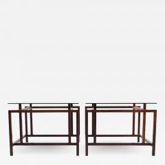 Henning N rgaard Pair of Rosewood Side Tables by Henning N rgaard for Komfort - 1892078