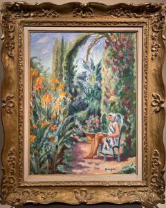 Henri Charles Manguin Odette dans le jardin de l Oustalet - 1816723