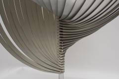 Henri Mathieu Rare Stainless Steel lamp By Henri Mathieu - 1468013