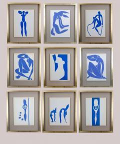 Henri Matisse Henri Matisse Colour Lithographs after the Cut Outs 1958  - 2110245