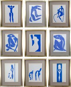 Henri Matisse Henri Matisse Colour Lithographs after the Cut Outs 1958  - 2110687