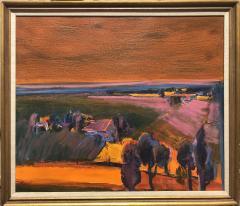 Henrietta Berk Summer Landscape Sonoma California - 1966110