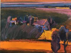 Henrietta Berk Summer Landscape Sonoma California - 1966113