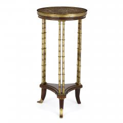 Henry Dasson Gilt bronze mounted mahogany round table by Henry Dasson - 1433176