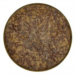 Henry Dasson Gilt bronze mounted mahogany round table by Henry Dasson - 1433179