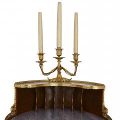 Henry Dasson Gilt bronze mounted tulipwood sycamore and marquetry writing table by Dasson - 1274285