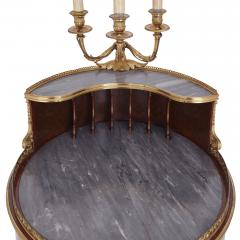 Henry Dasson Gilt bronze mounted tulipwood sycamore and marquetry writing table by Dasson - 1274286