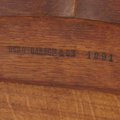 Henry Dasson Gilt bronze mounted tulipwood sycamore and marquetry writing table by Dasson - 1274288