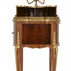 Henry Dasson Gilt bronze mounted tulipwood sycamore and marquetry writing table by Dasson - 1274289