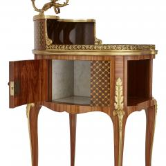 Henry Dasson Gilt bronze mounted tulipwood sycamore and marquetry writing table by Dasson - 1274293