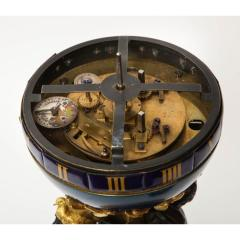 Henry Dasson Henry Dasson a French Gilt and Patinated Bronze Marble and Enamel Annular Clock - 1202244