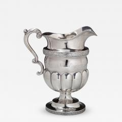 Henry Farnam Coin Silver Presentation Pitcher - 401351