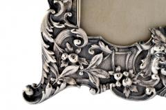 Henry Franklin Gorham Sterling Silver Picture Frame Repouss Gorham c a 1869 - 1311877