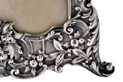 Henry Franklin Gorham Sterling Silver Picture Frame Repouss Gorham c a 1869 - 1311880