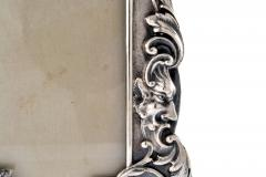 Henry Franklin Gorham Sterling Silver Picture Frame Repouss Gorham c a 1869 - 1311881