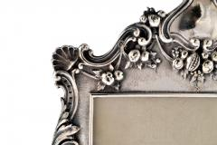 Henry Franklin Gorham Sterling Silver Picture Frame Repouss Gorham c a 1869 - 1311882