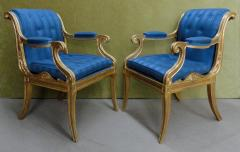 Henry Holland A Pair of Regency Giltwood Armchairs - 874674