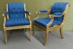 Henry Holland A Pair of Regency Giltwood Armchairs - 874675