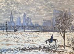 Henry Ives Cobb Jr Horse and Rider Central Park  - 1938696
