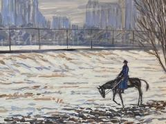 Henry Ives Cobb Jr Horse and Rider Central Park  - 1938699