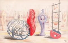 Henry Moore Sculptural Objects Lithograph by Henry Moore 24 450 - 483820
