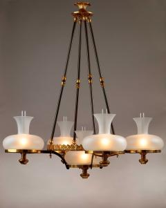 Henry N Hooper Five Burner Sinumbra Chandelier - 805256