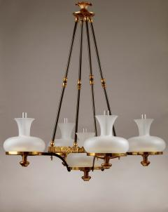 Henry N Hooper Five Burner Sinumbra Chandelier - 805263