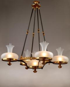 Henry N Hooper Five Burner Sinumbra Chandelier - 805266