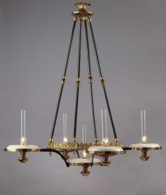Henry N Hooper Five Burner Sinumbra Chandelier - 805279