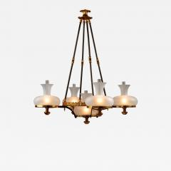 Henry N Hooper Five Burner Sinumbra Chandelier - 807116