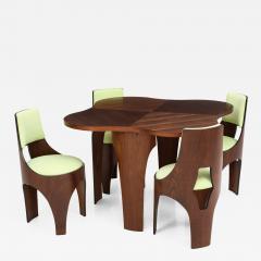 Henry P Glass Henry Glass Cylindra Dining Set - 753944