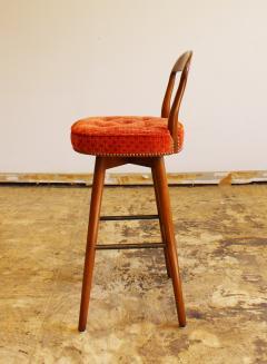 henry rosengren hansen mid century modern rosengren hansen danish set 4 bar stools 1960s