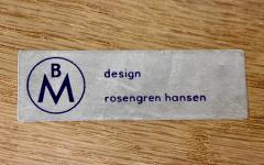 Henry Rosengren Hansen Scandinavian Modern Teak Dining Table Chairs Designed by Rosengren Hansen - 1154489