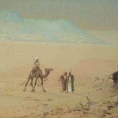 Henry Stanton 19th Century watercolour of Egypt by Henry Stanton Lynton - 1933764