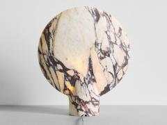 Henry Wilson Sculpted Calacatta Viola Marble Lamp by Henry Wilson - 1413896